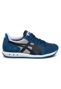 Niebieskie buty sportowe Onitsuka Tiger z cholewką