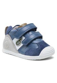 Biomecanics - Sneakersy BIOMECANICS - 212151 C-Petrol. Kolor: niebieski. Materiał: skóra, zamsz. Sezon: zima, jesień