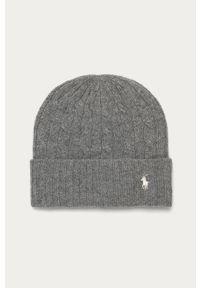Szara czapka Polo Ralph Lauren