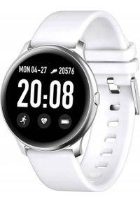 Smartwatch King Watch KW19 Biały (3105-uniw). Rodzaj zegarka: smartwatch. Kolor: biały