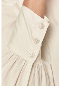 Biała koszula Vero Moda gładkie, casualowa
