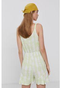 TALLY WEIJL - Tally Weijl - Kombinezon. Okazja: na co dzień. Kolor: zielony. Materiał: tkanina. Długość rękawa: na ramiączkach. Styl: casual