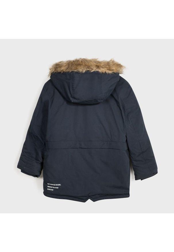 Niebieska kurtka zimowa Mayoral
