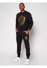 Versace Jeans Couture Bluza B7GWA73F Czarny Regular Fit. Kolor: czarny