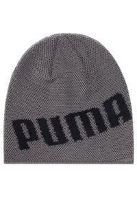 Puma - Czapka PUMA - Active Beanie 22333 03 Castlerock. Kolor: szary. Materiał: akryl, materiał