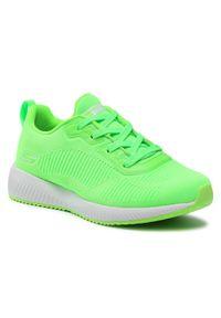Zielone buty do fitnessu skechers