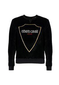 Bluza Roberto Cavalli z aplikacjami, casualowa, na co dzień
