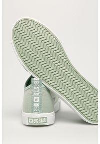 Big-Star - Big Star - Tenisówki. Nosek buta: okrągły. Kolor: zielony. Materiał: guma