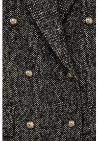 Szary płaszcz mango bez kaptura, na co dzień, casualowy #8