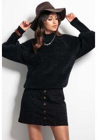 Czarny sweter Fobya