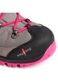 Kayland - Trekkingi KAYLAND - Cobra K Jr Gtx GORE-TEX 018018304 Grey/Pink. Kolor: szary. Materiał: materiał. Szerokość cholewki: normalna