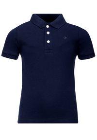 Niebieski t-shirt polo Mayoral polo