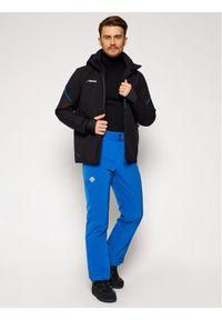 Czarna kurtka sportowa narciarska
