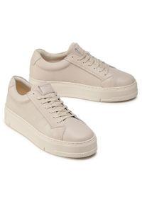 vagabond - Sneakersy VAGABOND - Judy 4924-001-05 Plaster. Okazja: na co dzień. Kolor: beżowy. Materiał: skóra. Szerokość cholewki: normalna. Styl: casual