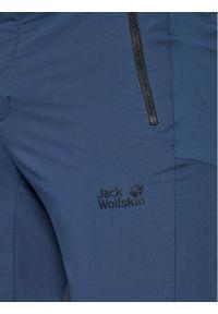Niebieskie spodenki sportowe Jack Wolfskin