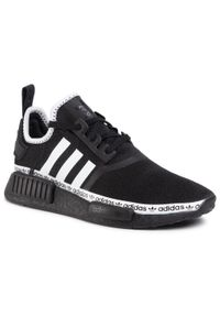 Czarne sneakersy Adidas z cholewką