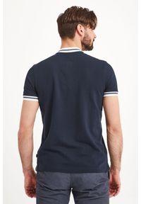 Koszulka polo JOOP! Jeans w jednolite wzory, polo, sportowa