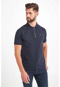 Koszulka polo Emporio Armani sportowa, polo, z nadrukiem