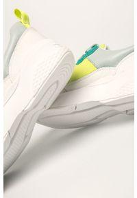 Miętowe buty sportowe vagabond z cholewką, na sznurówki