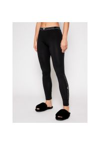 Czarne legginsy sportowe Emporio Armani Underwear