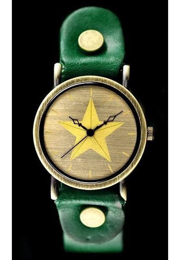 Zielony zegarek NoName retro