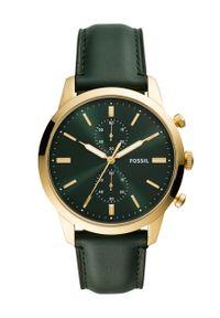 Zielony zegarek Fossil