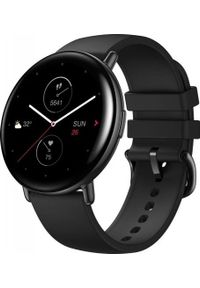 AMAZFIT - Smartwatch Amazfit Zepp E Round Czarny (xiaomi_20201027114214). Rodzaj zegarka: smartwatch. Kolor: czarny