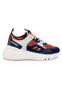 Togoshi Sneakersy TG-12-04-000169 Pomarańczowy. Kolor: pomarańczowy