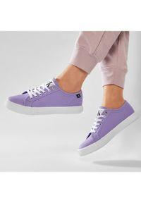 Fioletowe trampki Calvin Klein Jeans