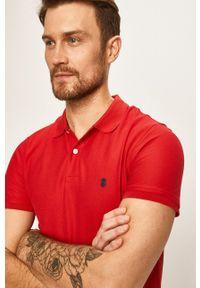 Czerwona koszulka polo Izod krótka, polo