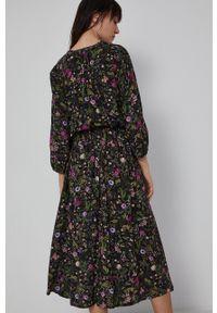 medicine - Medicine - Sukienka Basic. Materiał: tkanina. Typ sukienki: rozkloszowane