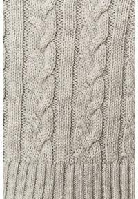 TALLY WEIJL - Tally Weijl - Sweter. Okazja: na co dzień. Kolor: szary. Długość rękawa: długi rękaw. Długość: długie. Styl: casual
