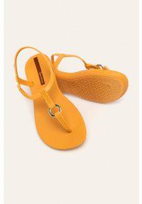 Pomarańczowe sandały Ipanema