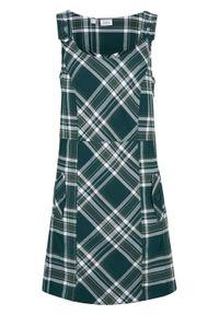 Zielona sukienka bonprix na ramiączkach