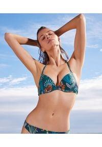Wielokolorowy strój kąpielowy dwuczęściowy Etam