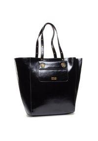 Czarna torebka klasyczna Versace Jeans Couture klasyczna