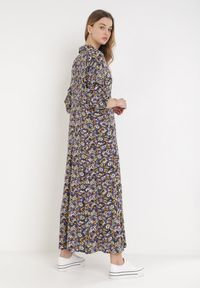 Born2be - Fioletowa Sukienka Sereileh. Kolor: fioletowy