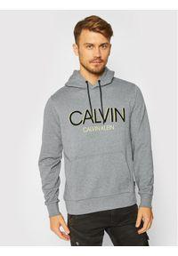 Calvin Klein Bluza Shadow Logo K10K105584 Szary Regular Fit. Kolor: szary