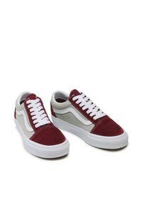 Vans Tenisówki Old Skool VN0A3WKT4PR1 Bordowy. Kolor: czerwony. Model: Vans Old Skool
