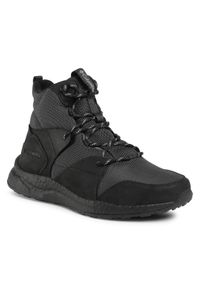 Szare buty trekkingowe columbia trekkingowe, Omni-Heat (Columbia)