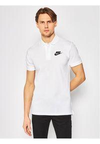 Biała koszulka polo Nike polo