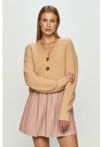 Sweter rozpinany Brave Soul długi, z długim rękawem