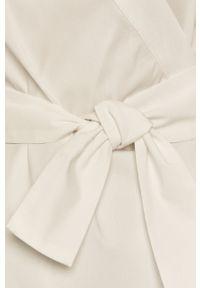 Biała bluzka Liviana Conti długa, casualowa, gładkie