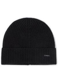 Czarna czapka zimowa JOOP!