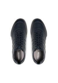 Geox Sneakersy U Kristof B U150EB 043BC C4002 Granatowy. Kolor: niebieski