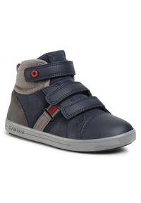Niebieskie buty zimowe Mayoral