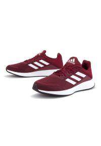 Czerwone sneakersy Adidas z cholewką