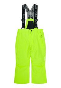 Żółte spodnie sportowe CMP