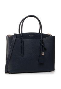 Niebieska torebka klasyczna Kate Spade klasyczna