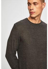 Szary sweter Blend na co dzień, casualowy